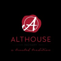 The Althouse Notary Corp. Store for Notary