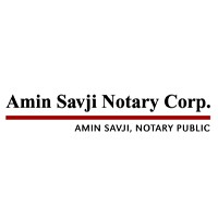 The Amin Savji Notary Store for Notary
