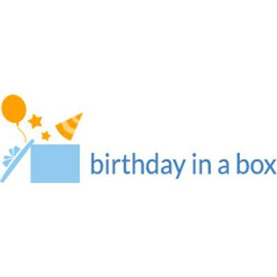Birthday In A Box - Promotions & Discounts