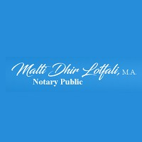 The Malti Dhir Lotfali, M.A. Store for Notary