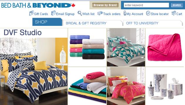 Bed Bath & Beyond Online Store