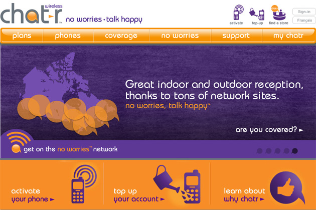 Chatr Wireless Online