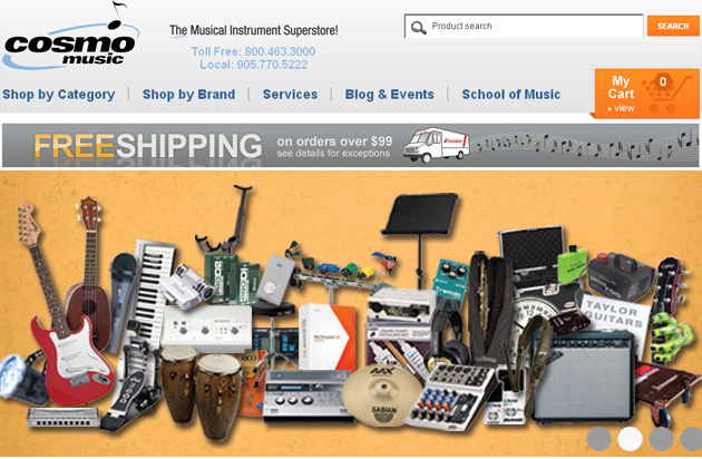 Cosmo Music Musical Instrument Superstore Online