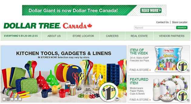 Dollar Tree Online