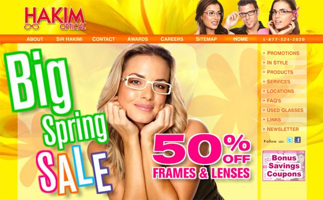 Hakim Optical Online Store