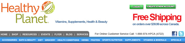 Healthy Planet Vitamins Supplements Online