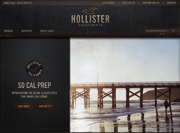 Hollister Online Store