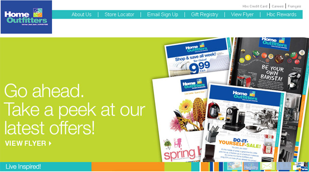 Home Outfitters Flyer Online