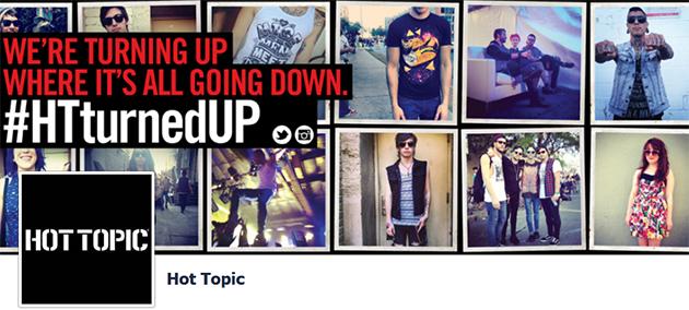 Hot Topic Online