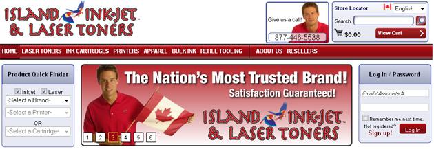 Island Ink Jet Online Store