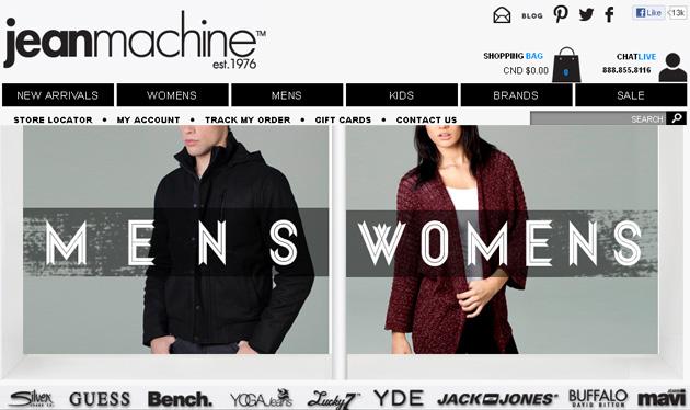 Jean Machine Store Online