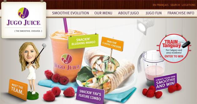 Jugo Juice Online Restaurant