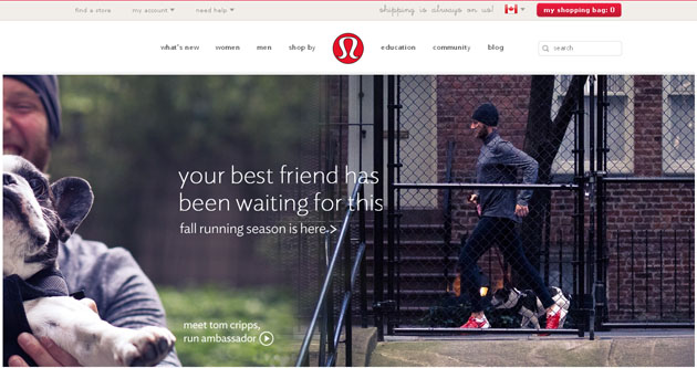 Lululemon Yoga Clothing Online Store