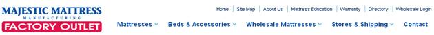 Majestic Mattress Online Store