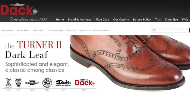 Matthew Dack Shoes Online