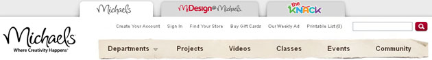 Michaels  Arts & Crafts Weekly Flyer Online