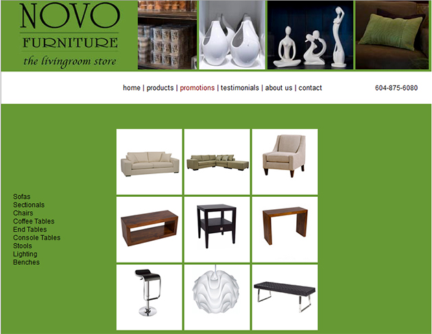 Novo Furniture Online