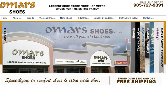 Omars Shoes Online