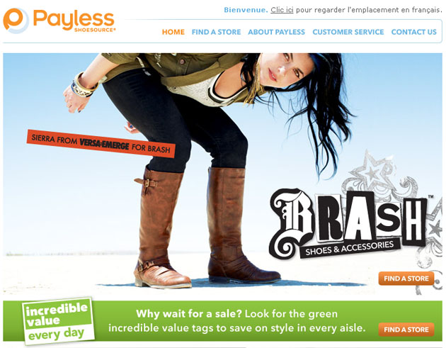 Payless Shoesource Online Store