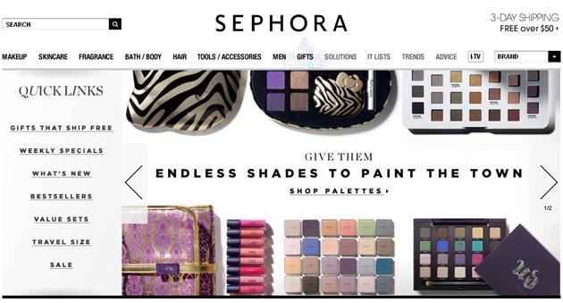 Shephora Makeup Skincare Online Store