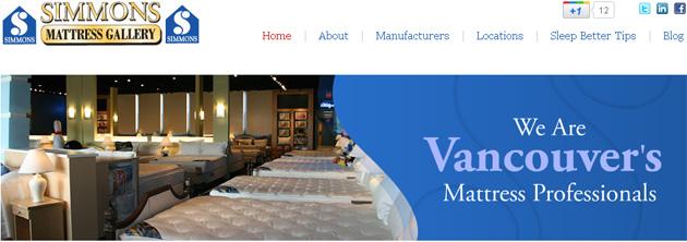 Simmons Mattress Gallery Online Flyer