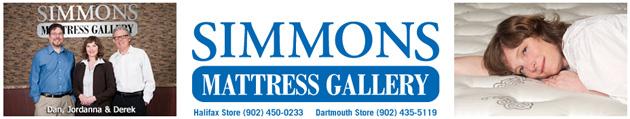Simmons Mttress Gallery Nova Scotia