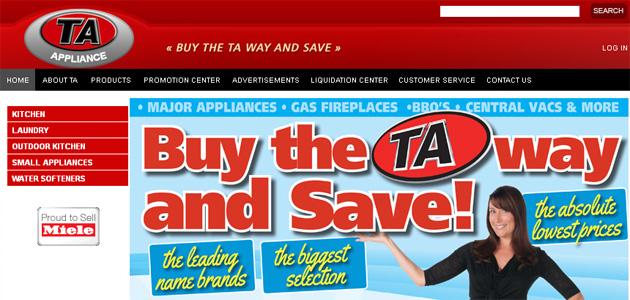 Ta Appliance Online Flyer