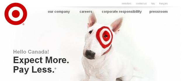 Target Canada Online Store