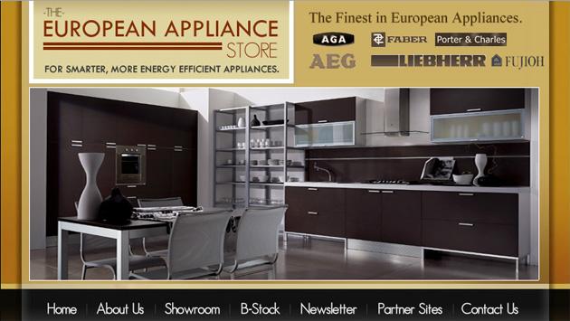 The European Appliance Store Online