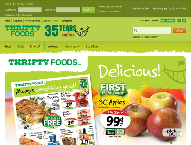 Thrifty Foods Grocery Online Flyer