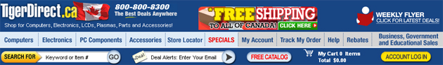 Tigerdirect Weekly Flyer Online