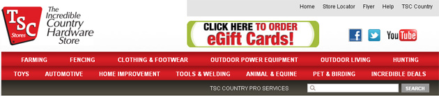 Tsc Stores Country Hardware Store Online